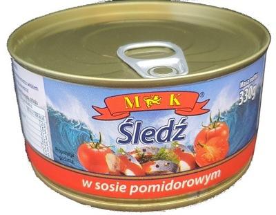 селедка в томатном соусе 330g.