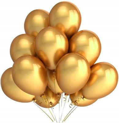 Воздушные ШАРЫ ЗОЛОТЫЕ МЕТАЛЛИЧЕСКИЕ 12pcs свадьба день рождения ???