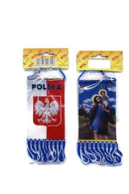 PROPORCZYK КРАТКИЙ FLAGA SW. KRZYSZTOF/POL TIR BUS