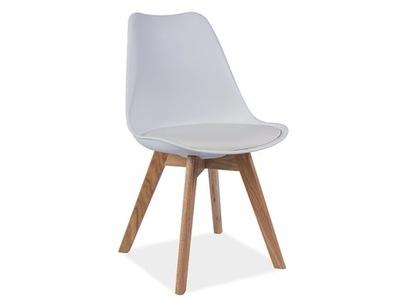 Krzesło KRIS buk białe