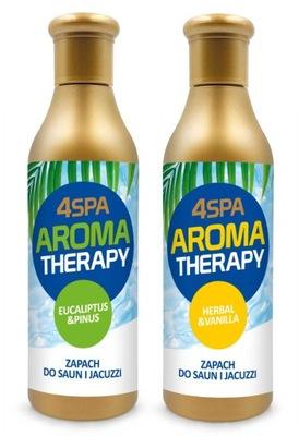 2 Zapachy do Sauny Basenu Jacuzzi Spa Aromaterapia