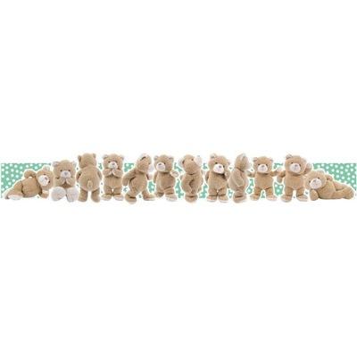 Плюшевый border instagram для детей 178x27cm МИШКИ