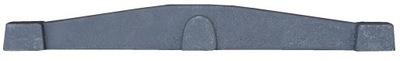 Nosníkový liatinový rošt 31 cm
