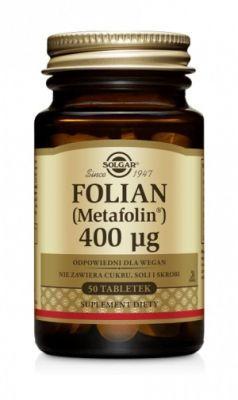 SOLGAR Folian 400µg, 50tabl