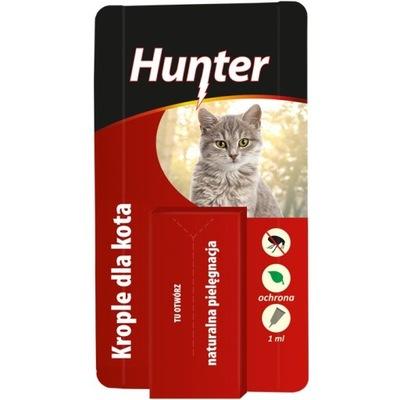 Хантер - капли для кошек 1мл.