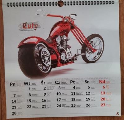 Choppery kalendarz ścienny 2022 bikes motocykle