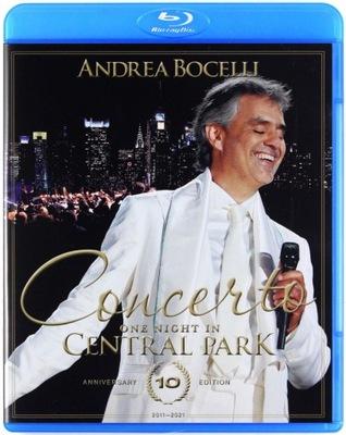 ANDREA BOCELLI: CONCERTO: ONE NIGHT IN CENTRAL PAR