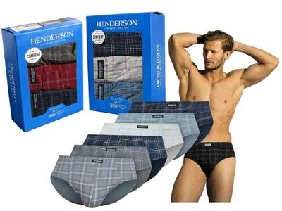 HENDERSON 2 X 3-pak Bawełna 100% Slipy r. XXL