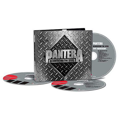 Pantera Reinventing The Steel CD