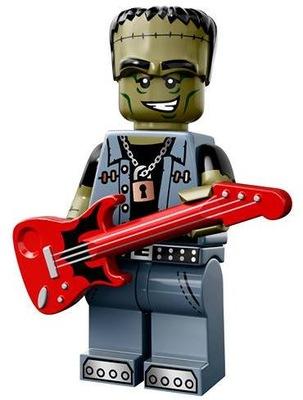 LEGO Mini SERIA14 MONSTERS 71010-12 Rockowy Potwór
