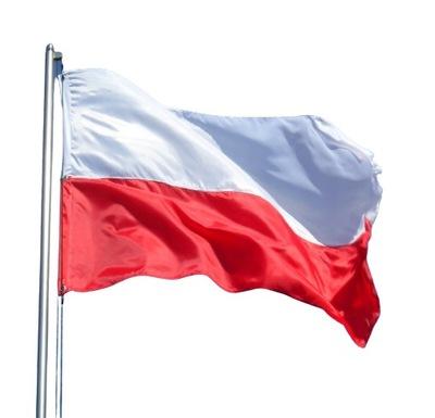 Flaga Polski Polska Narodowa 90 x 150 cm na Maszt
