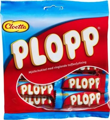 Cloetta Plopp мини батончиков в пачке 158g Швеция