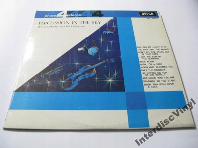 LP WERNER MULLER - Percussion In The Sky