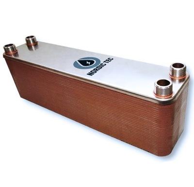 65 kW výmenník tepla 60-platňový 3/4 NORDIC Tec