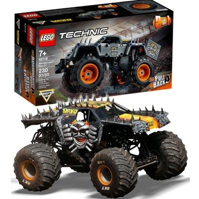 LEGO 42119 Monster Jam Max-D 2w1 silnik PB -SZYBKO