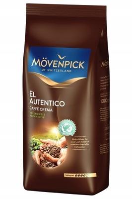 MOVENPICK 1кг ? зернах элем Autentico Crema