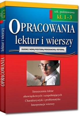 Opracowania lektur i wierszy 1-3 szkoła podstawowa