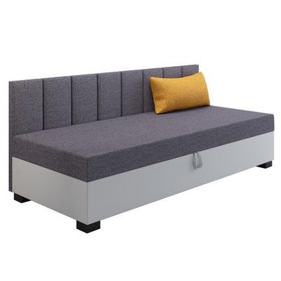 Łóżko młodzieżowe tapczan Ron z poduszką Gratis