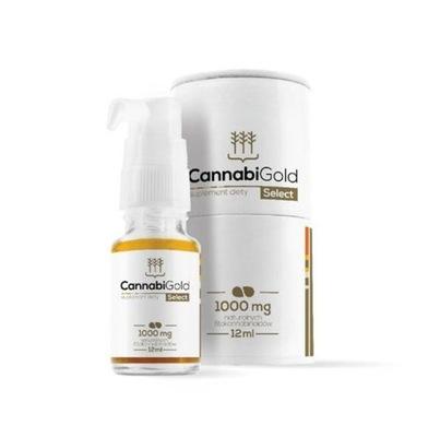Cannabi Gold Olejek CBD 1000mg Select 12ml
