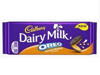 Cadbury шоколад Oreo с арахисовым маслом 120 ?