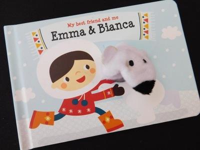 0106bib116 EMMA&BIANCA książka Z ZABAWKĄ eng