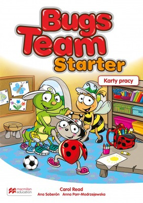 Bugs Team Starter Karty pracy Macmillan 2017