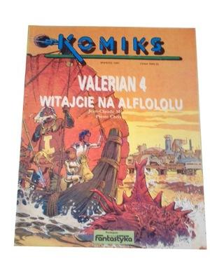 VALERIAN 4 WITAJCIE NA ALFLOLOLU 1991 r. + errata