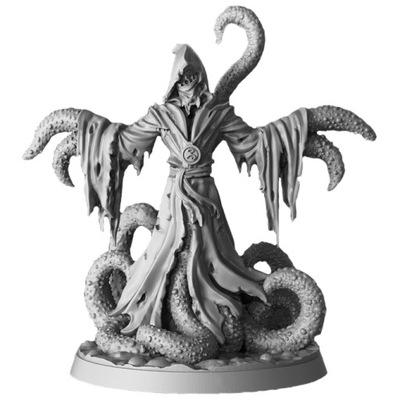 Kultysta - potwór, Figurka RPG, eco żywica