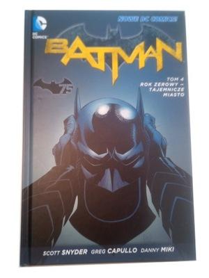 BATMAN ROK ZEROWY 4. TAJEMNICZE MIASTO 2014 r.