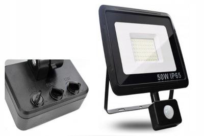 MOCNA LAMPA ZEWNĘTRZNA LED NA PODWÓRKO IP65