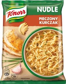 Zupa Knorr Nudle Pieczony Kurczak 22 x 61g -karton
