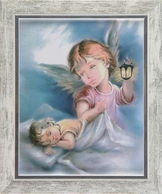 Obraz Anioł Stróż do pokoju dziecięcego