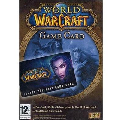WORLD OF WARCRAFT 60 DNI WOW 60 PREPAID EU PL KOD