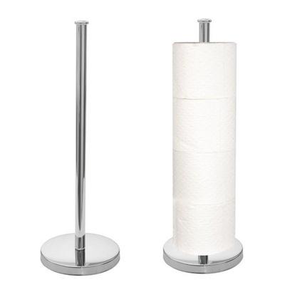 Стенд запасной бумага туалетная 4 ролики сталь