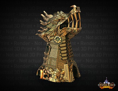 Clockwork Dragon dice tower