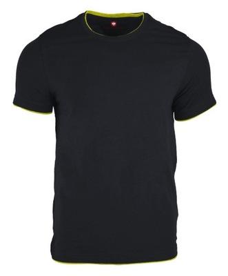 Koszulka Engelbert Strauss szafirowy/żółty S