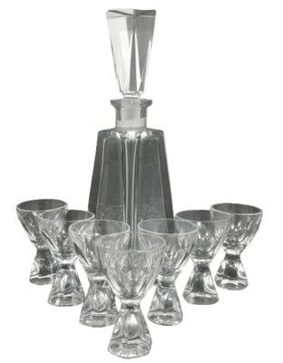 Zestaw karafka kieliszki - szkło kryształowe