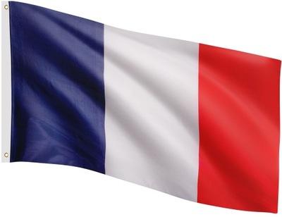 FLAGA FRANCJI FRANCUSKA 120x80 CM NA MASZT FRANCJA