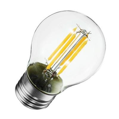 ЛАМПА FILAMENT Декоративная LED E27 G45 6W 2700K