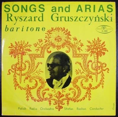 RYSZARD GRUSZCZYŃSKI - Pieśni i Arie