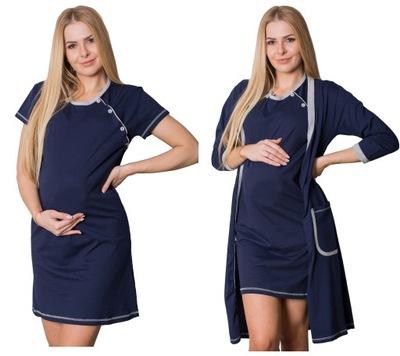 Koszula do porodu szpitala jednorazowa LXL 8947832008  1Xw5Y