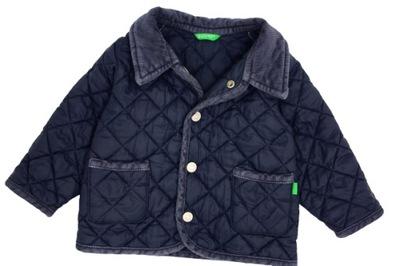 Benetton 9m pikowana kurteczka, jesień 66