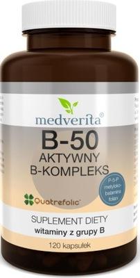 Medverita витамин B -50 активный B -комплекс - 120k