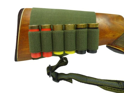Ładownica gumowa na kolbę do amunicji śrutowej