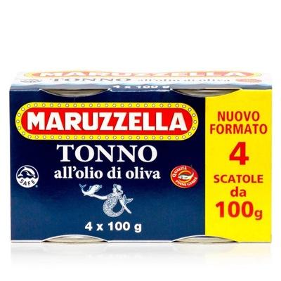 тунец в оливковом масле 4x100g Maruzzella Италия