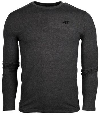 4f koszulka męska długi rękaw long sleeve MENS M
