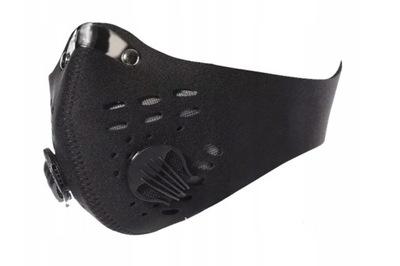Maska antysmogowa antywirusowa ochronna z filtrem