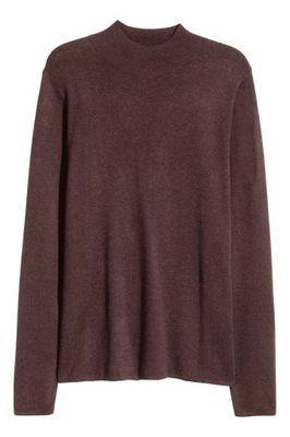 H&M HM MAN Cienki sweter z półgolfem 36 S