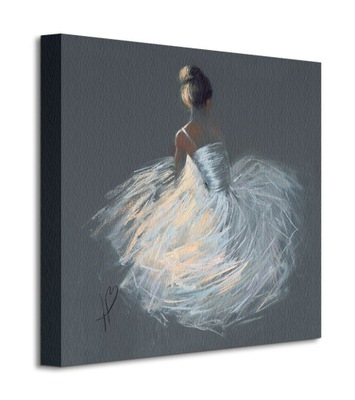Хейзел Боумен женщина белой Платье Изображение 40х40 см