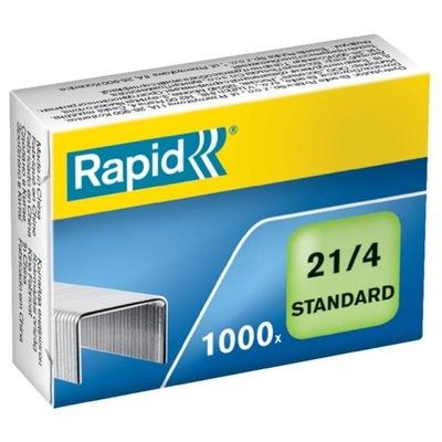 Zszywki RAPID Standard 21/4 1M 1000szt 24867600